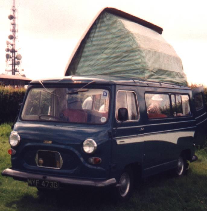 Anos 60 – Austin J4, transformada por Dormobile