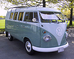 Anos 60 – Volkswagen Westfalia