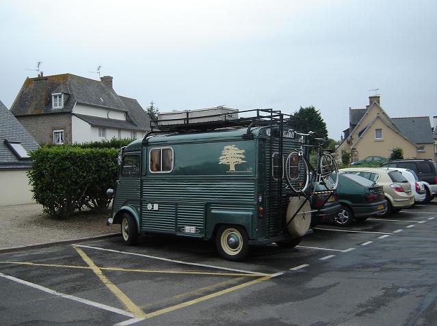 Anos 60 – Citroën HY ainda em actividade