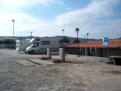 Freixo de Numão – Área de Serviço e local de pernoita
