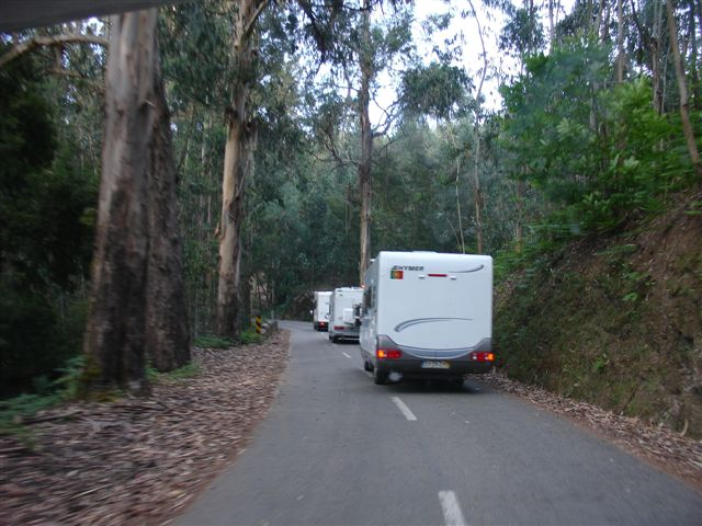 A caminho de Castelo de Paiva