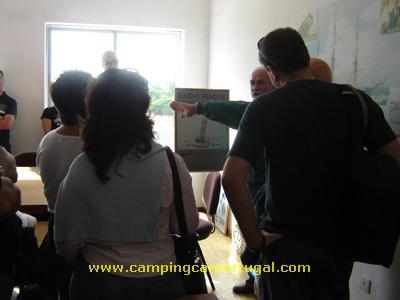 Visita guiada ao estaleiro da Navalria