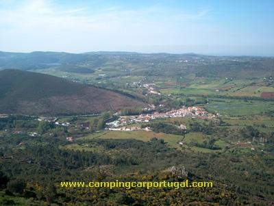 Vista panorâmica da vila da Portagem