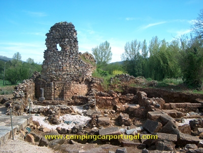 As ruinas da cidade romana de Ammaia, situam-se na freguesia de São Salvador da Aramenha, concelho de Marvão