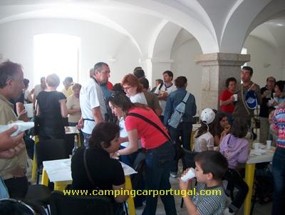 Um beberete gentilmente oferecido pelo presidente da Câmara Municipal, Pedro Lancha