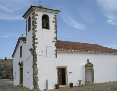 Museu Municipal de Marvão, na recuperada Igreja de Santa Maria, o mais antigo templo de Marvão