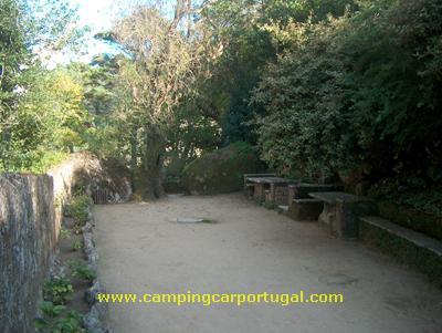 Pátio de acesso ao Convento