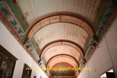 Pormenor de um dos tectos do Palácio